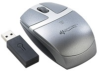 "GeneralKeys optische Mini-Funk-Maus USB ""Receiver-In-Mouse"""