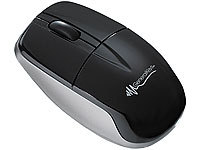 GeneralKeys Optische Bluetooth Mini-Maus 1600 dpi; Funktastatur & -Maus Sets