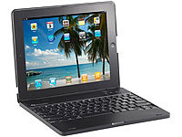 GeneralKeys iPad3/4-Netbook-Case mit 4000 mAh Akku, Bluetooth-Tastatur