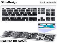 GeneralKeys Funk-Voll-Tastatur, Slim-Design, Windows (Versandrückläufer)