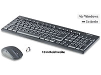 GeneralKeys Ergonomische Funk-Tastatur-Maus-Kombination, 2,4 GHz, 10 m Reichweite; iPad-Tastaturen mit Bluetooth iPad-Tastaturen mit Bluetooth iPad-Tastaturen mit Bluetooth