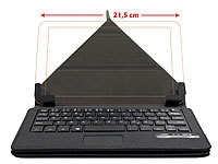 GeneralKeys BT-Tastatur-Schutzcover mit Touchpad (refurbished)