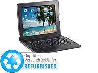 GeneralKeys Netbook-Case inkl. Tastatur mit Bluetooth für iPad2 (refurbished)